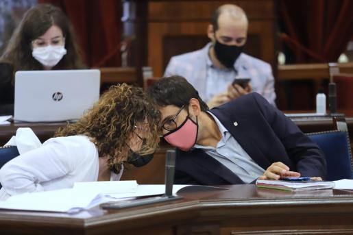 Los consellers Rosario Sánchez y Iago Negueruela.