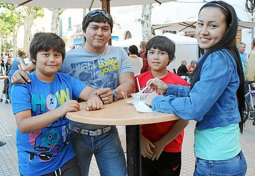 Miguel Ángel Arcos, Miguel Ángel Arcos, David Chamorro y Claudia Milena Sierra.