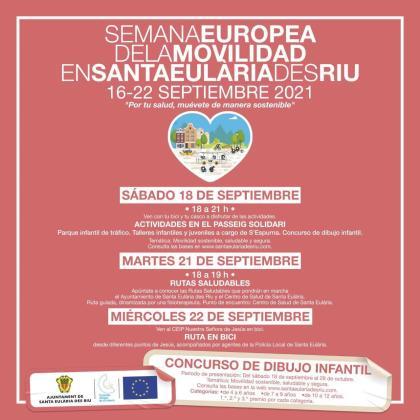 Semana Europea de la Movilidad, en Santa Eulària.