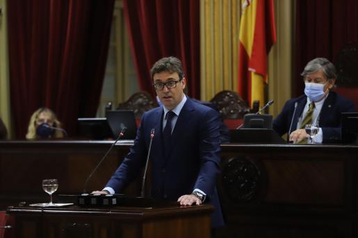 Antoni Costa, en su intervención en el Debate de Política General.