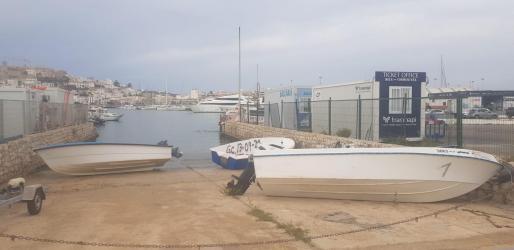 Las últimas pateras interceptadas han sido trasladadas al puerto de Ibiza.