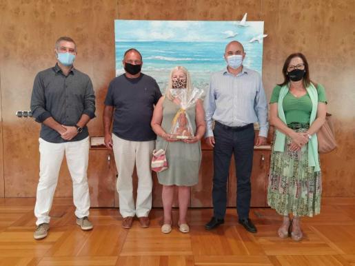 Imagen de la recepción celebrada en el Consell de Ibiza.