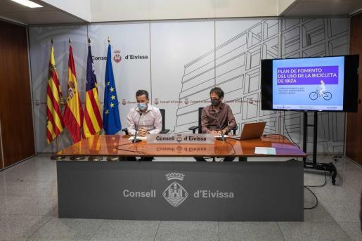 Presentacción realizada en el Consell de Ibiza.