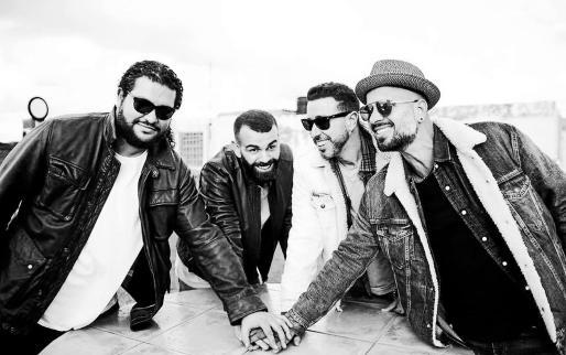 La banda canaria Efecto Pasillo en una imagen promocional.