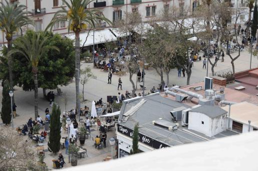La Plaza del Parque, en una imagen de archivo.