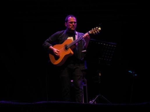 Ismael Serrano, en una imagen de archivo de un concierto en Ibiza.