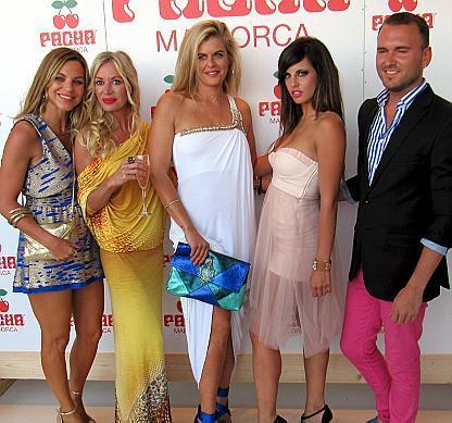 María Juan de Sentmenat, Olga Duque, Sofía Marí, Carla Nickson y Kiki Price.