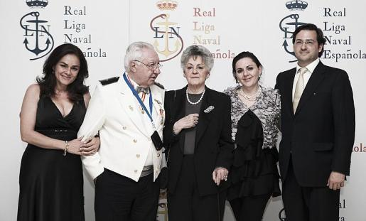 Margarita Rabassa, Bernardo Rabassa, Rosario García Tous, Dulce Rabassa y Gerardo Romero.