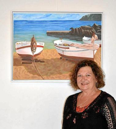 Fina de sa Real se ha formado con los mejores artistas de Ibiza y del exterior creando a lo largo de su trayectoria un estilo muy particular que según ella misma defiende «navega entre el realismo y el impresionismo con una interpretación muy personal».