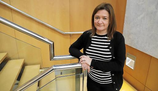 Mercedes Garrido, consellera de Presidència, Funció Pública i Igualtat, en una imagen de archivo.
