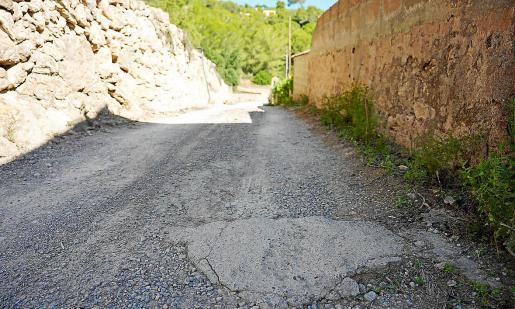 Uno de los caminos que será rehabilitado.