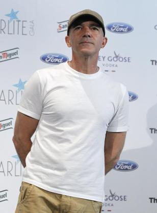 El actor Antonio Banderas, durante la presentación de la gala benéfica Starlite, que se celebrará en Marbella el 10 de agosto.