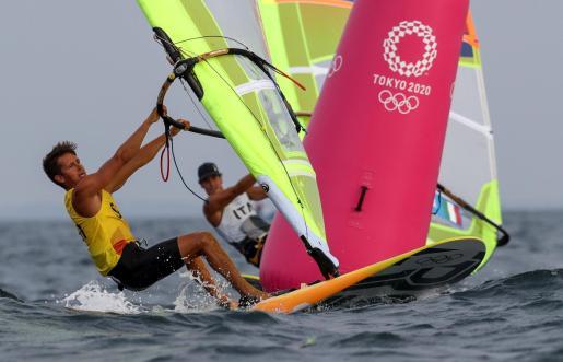 Mateo Sanz, en los pasados Juegos Olímpicos.