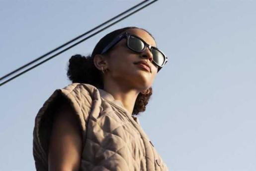 Gafas de sol inteligentes Ray-Ban Stories, diseñadas junto con Facebook. -