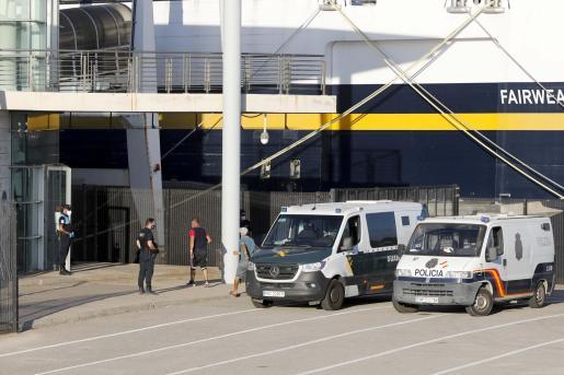 Dispositivo puesto en marcha recientemente en Ibiza ante la llegada de pateras.