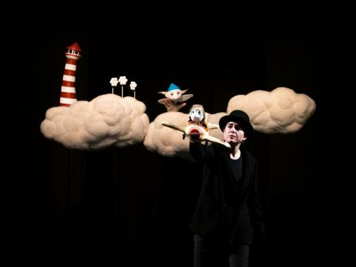 Llega a las Pitiusas la multipremiada obra infantil de títeres 'Nube Nube'.