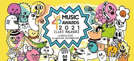 Los 40 Music Awards eligen Ibiza para su esperado regreso.