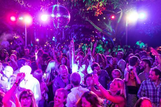 Imagen del interior de una discoteca en plena normalidad.