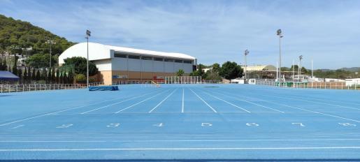 Pista municipal de atletismo de Santa Eulària.