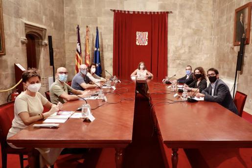 La presidenta del Govern ha presidido la reunión.