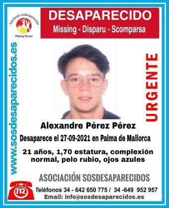🆘 DESAPARECIDO #desaparecido #sosdesaparecidos #Missing #España #PalmadeMallorca https://t.co/rMbSfsqTca