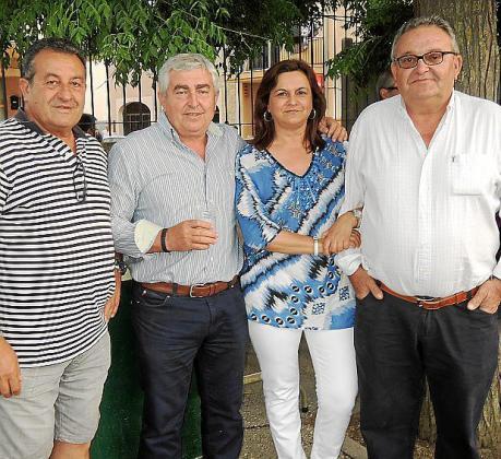Jaume Alós, Jaume Batle, Mita Vallés y Toni Ramis.