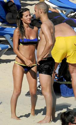 Malena Costa y Mario Suárez han pasado unos días de tranquilidad en Mallorca