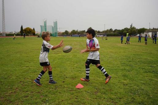 Diada de Rugby Infantil el sábado 19 de junio 2021, en Can Misses.