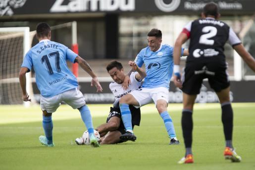 Un momento del partido del FC Cartagena y la UD Ibiza.