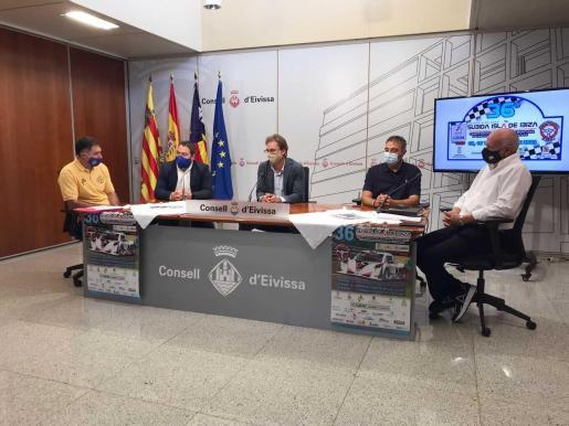 Presentación realizada en el Consell de Ibiza.