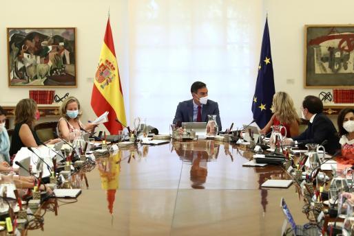 Consejo de ministros del pasado agosto.