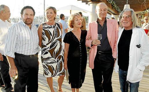 Luis Fidalgo, Chantal Jourdain, Teresa Salaverri, Franco Mimmi y Fabrizio Plessi.