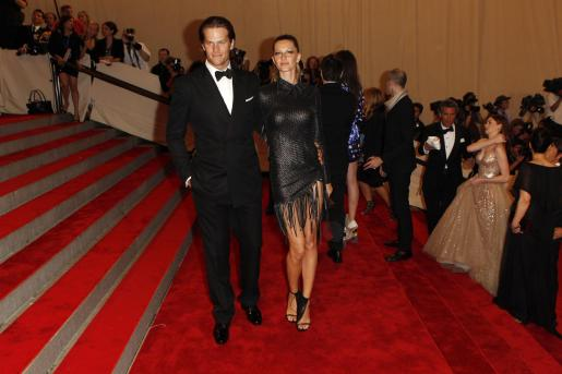 Tom Brady y la modelo Gisele Bundchen.