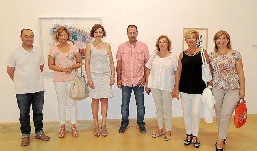 Tomeu Simonet, Margalida Horrach, Rosa Tarragó, Antoni Aguilar, Maria Payeras, Magdalena Cantarellas y Catalina Coll.