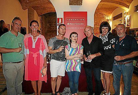 José Casasnovas, Patricia Baronet, Juan Carlos Rego, Nekane Aramburu, Ñaco Fabré, Aina Mayans y Félix Comas.