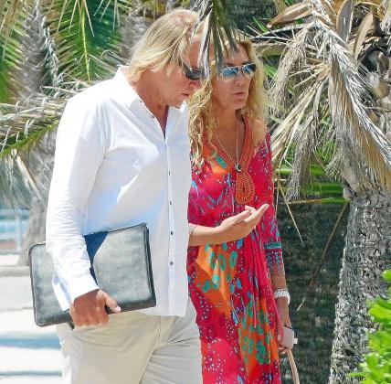 Vacaciones en Mallorca, el lugar elegido por muchos famosos como Norma Duval y Mathias Kühn.