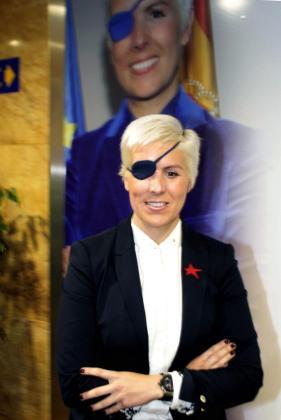 Fotografía de archivo de la piloto María Villota.