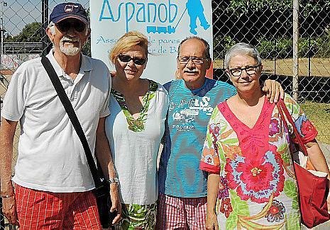 José Miguel Miró, Coloma Calafat, Pedro Cortés y Gemma Miró.