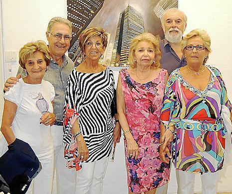 Esperança Morey, Bartolomé Palmer, Maria Llobera, Lucía Aguiló, Guillem Garau y Marga Llaneras.