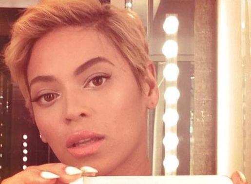 Beyoncé ha publicado varias fotos en su perfil de Instagram con su nuevo corte de pelo.