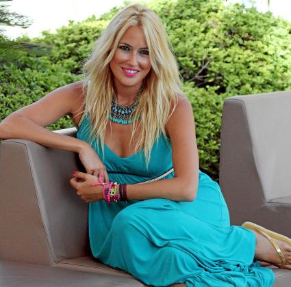 La actriz y presentadora Carolina Cerezuela, en Palma.
