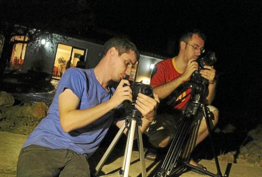 El Observatori de Costix, una vez más, se llenó de curiosos que quisieron presenciar el espectáculo celestial.