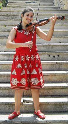 Carla Marrero, ayer, en Eivissa.
