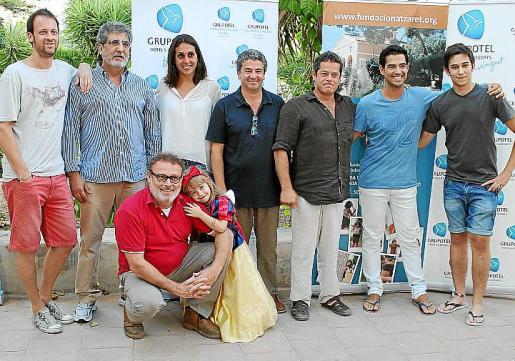 Edu Soto, Javivi, Pablo Carbonell y su hija Mafalda, Marga Crespí, Guillem Cladera, Jorge Sanz, Andreu Genesta y Sergio Gómez.