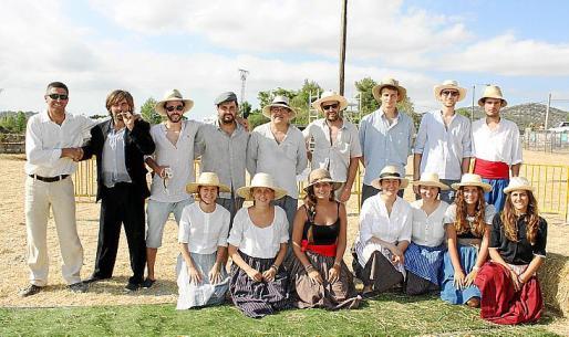 La festa pagesa fue un gran éxito entre los vecinos de Son Macià.
