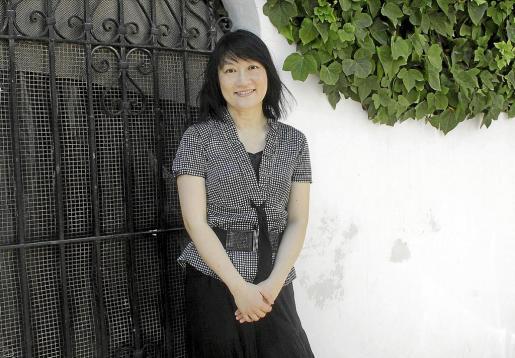 Mary Wu, ayer, en la ciudad de Eivissa.