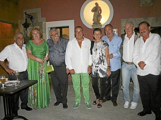 Juan José Hidalgo, Isabel Vera, Pere A. Serra, Bernat Quetglas, Carme Serra, Jesús Boyero, Bartolomé Vich y José María García Ruiz.