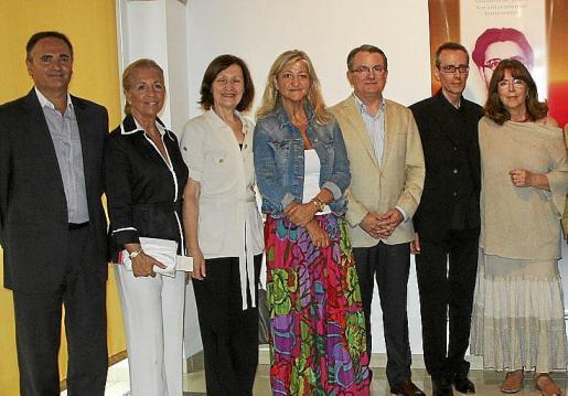 José Carrillo, Teresa Martorell, Catalina Sureda, Bel Cerdà, Joan Rotger, Josep Camprubí y Maria del Mar Bonet.