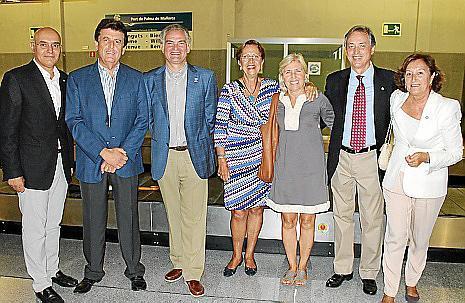 Pep Balaguer, Pedro Arrom, Rafael Borrás, Francisca Bennassar, Maruja Baral, Emilio Almoyna, María de los Ángeles Perruchet