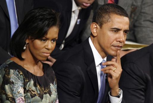 Barack Obama con su esposa Michelle, en una imagen de archivo.